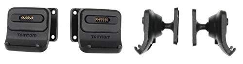 Brodit Gerätehalter 215941   Made IN Sweden   mit Ladefunktion für Navigationsgeräte - Tomtom GO 520 New, Go Premium X, GO Essential, GO 5200, GO 620 und weitere