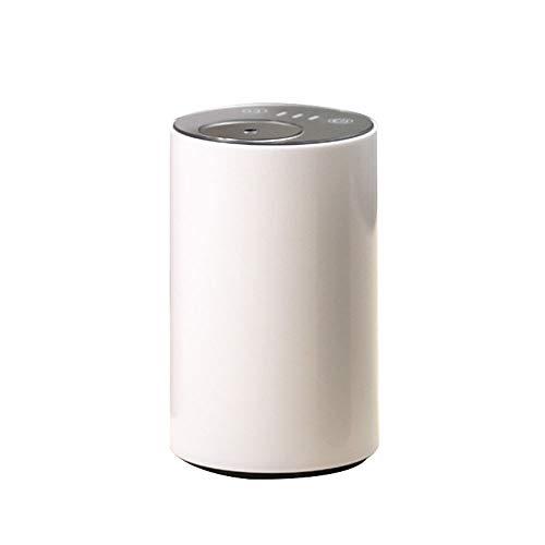 Coolwind Aroma Diffusor Multifunktions Mini USB Aromatherapie Luftbefeuchter Auto Ätherisches Öl Duft Zerstäuber Für Auto Wohnzimmer Büro Schlafzimmer Yoga White