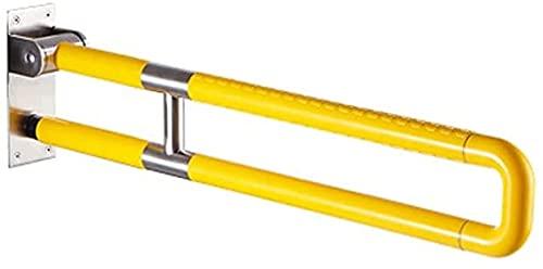 Grip Sliding Grip Anti-Skid Handle Banco da toilette, maniglia a goccia pieghevole a forma di asta, stick di supporto sicuro non è adatto per anziani, donne incinte e disabili. Maniglia del bagno Vecc