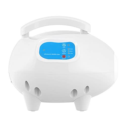 Bubbelbadmat Bad Spa Massager Verstelbare bubbelinstellingen en ozonsterilisatie Massagemachine met luchtslang Waterdicht antislip(ME)