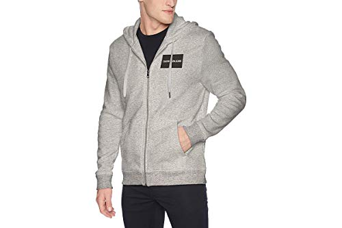 Calvin Klein Men's Institutional Logo Hoodie Sweatshirt