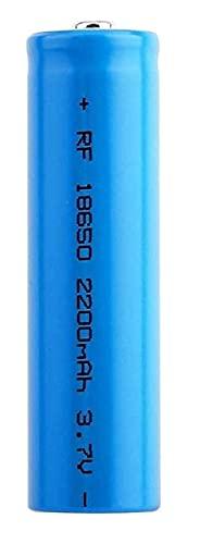 Batería Recargable 18650 Batería de Litio de Ion Litio 3.7V batería Recargable 2200 MAH Batería Litio Litio ICR ICR Gran Capacidad para la lámpara de Insignia Azul-PC 1