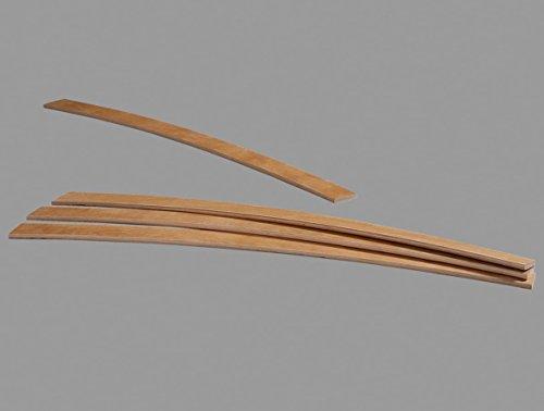 france-matelas Pack de 3 Lattes de 79cm