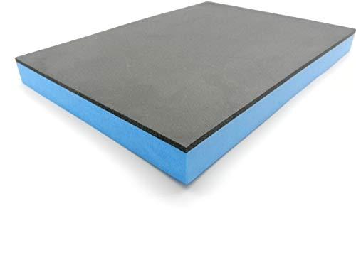 (64,97 €/m²) Werkzeugeinlage schwarz/blau (ca. 500 x 600 x 30 mm) Systemeinlage Universaleinlage