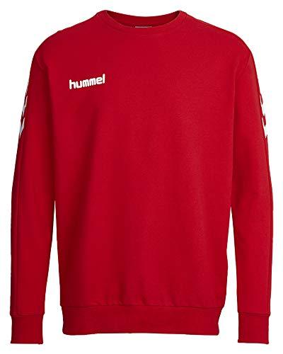 hummel Core Cotton Sweat-Shirt en Coton pour Homme M Rouge