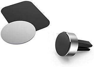 HAMA 173765 Magnetic Aluminium Universal Smartphone Holder - Black
