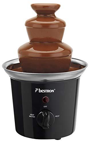 Bestron Funcooking Fontana di Cioccolato, 60 W, 0.3 kg, Plastic, Nero