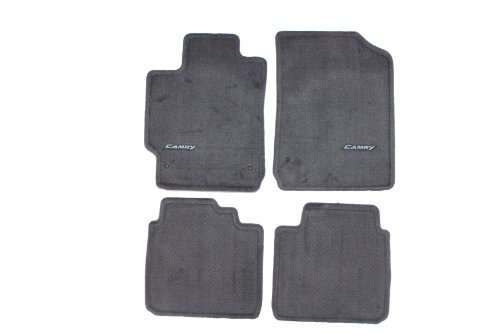 Genuine Toyota Accessories PT206-32100-12 Custom Fit Carpet Floor Mat - (Gray)