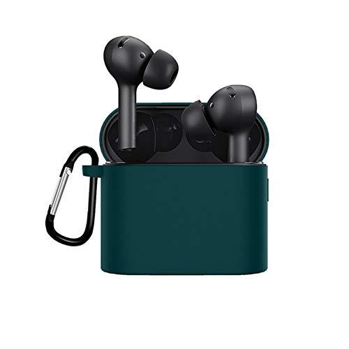 kdjsic Funda Protectora de Silicona Lavable Funda para Auriculares anticaída para Auriculares inalámbricos Bluetooth Air 2 Pro