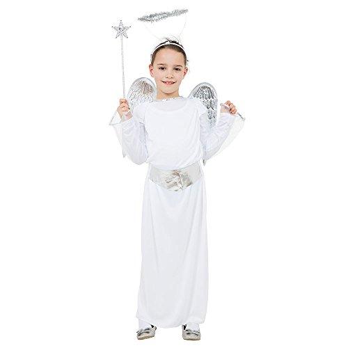Bristol Novelty Cc342 Costume d'Ange budget pour enfant taille S, Âge 3-5 ans, Fille, Multicoloured, Petit