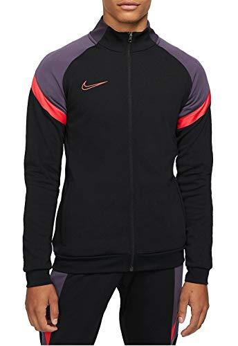 Nike CT2493-014 M NK DRY ACD TRK JKT K FP MX Giacca sportiva Uomo black/black/siren red/(siren red) S