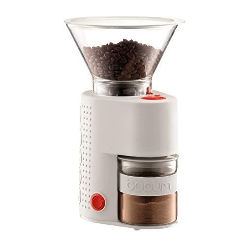 Bodum BISTRO 10903-913 Elektrische Kaffeemühle Offwhite