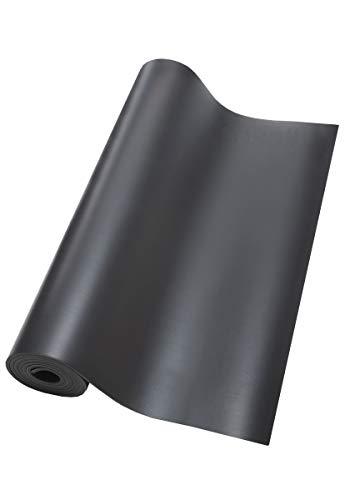 Casall Yoga Matte Grip & Cushion II - 5 mm Black/Tropical Blue o/s