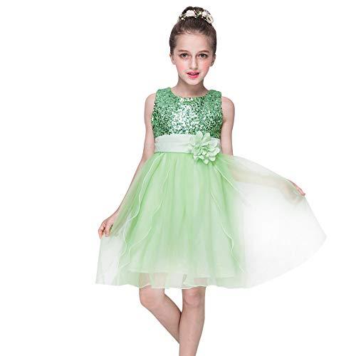 Girl Sleeveless Lace 3D Flower Tutu Holiday Princess Dresses Prom Dress Formal Wedding Party Skirt Kids Tank Top Summer