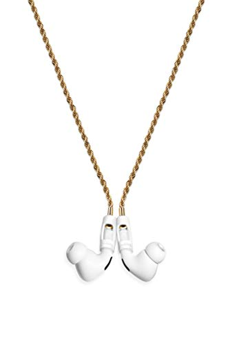 Tapper 18K Gold Plated Rope Chain for AirPods & AirPods Pro, Gold