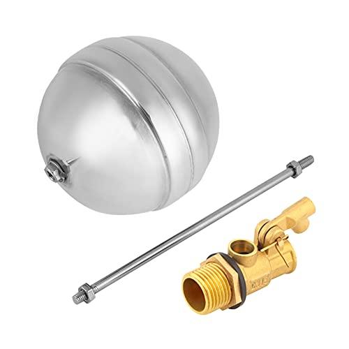 Accesorio para el hogar de acero inoxidable Válvula de agua DN15 G1 / 2 Valor de bola flotante para cambiar la dirección del flujo para el hogar para que las tuberías se corten