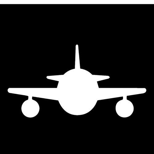 Leeg 4 stks Auto stickers 17.9cm*9.3cm Cartoon Interessant Transparant Animatie Vliegtuig Levendige Vinyl Auto Sticker Decal Delicate Onderdelen