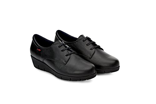 Oneflex Margot Negro - Zapatos anatómicos Profesionales cómodos para Mujer- Talla 40