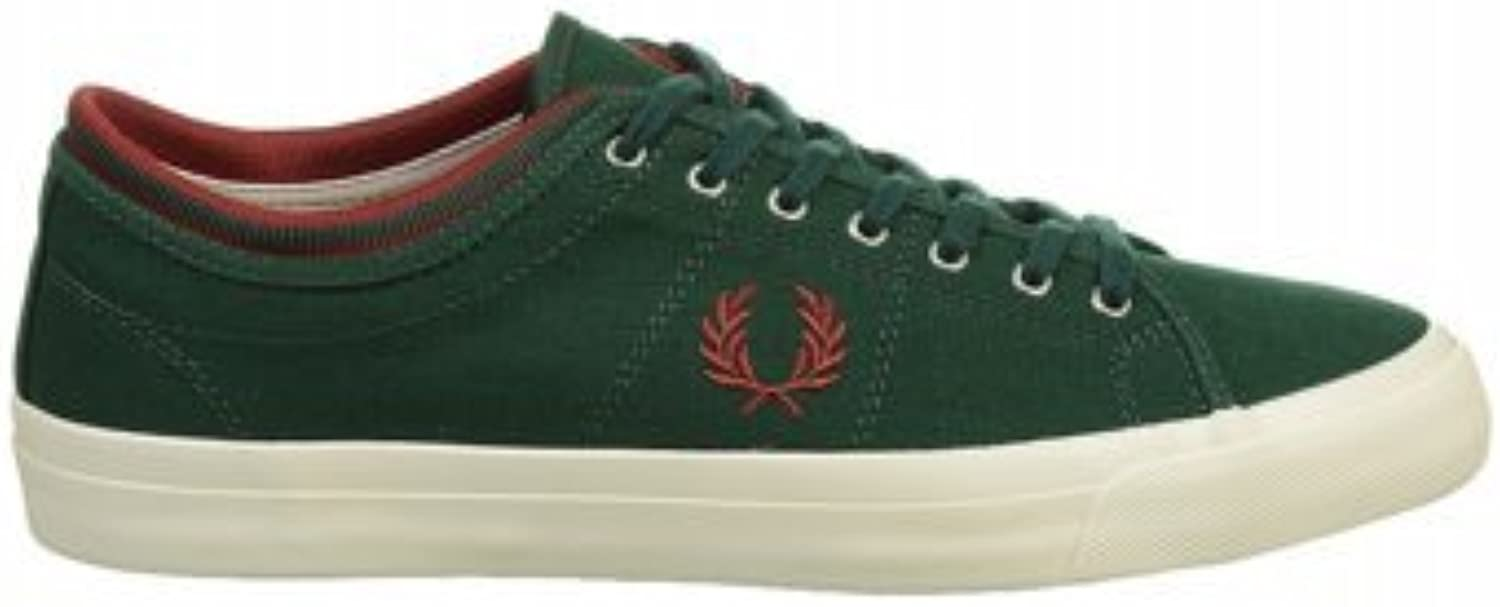 Fred Perry Kendrick Tipped Cuff Green Mens Trainers -