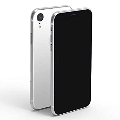 DDAWEFRT Fake Dummy Phone Display Model Compatible with Phone XR Replica Non-Working 6.1 inch Black Screen Without Logo 1:1 Scale XR-White by DDAWEFRT