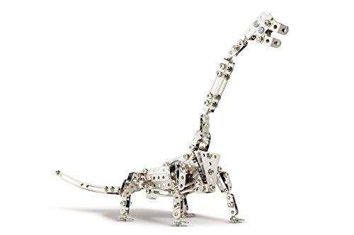 Eitech 00097 Modellbaukästen-Starter-Set-Dinosaurier Brachiosaurus, 320-teilig, Multi Color