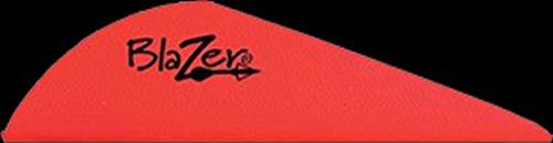 Bohning Blazer Archery Vane (100-Pack), Neon Red