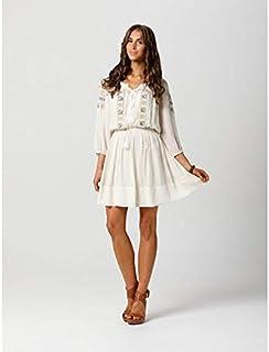 FATE - Mid West Silk Dress (4330DWFA - Cream)