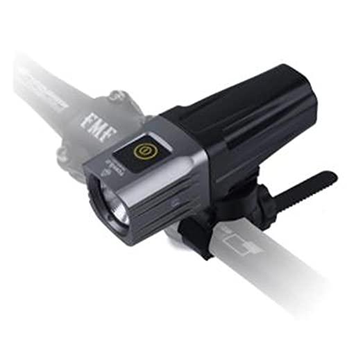 tyui Luz Delantera de la Bicicleta, luz Fuerte Luz de Largo Rango de Carga Advertencia IPX6 Impermeable USB Recargable Accesorios de Linterna Noche Equipo de equitación