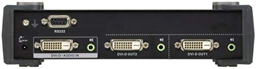ATEN VS172-AT-G DVI Dual Link Switch (2-Port) mit Audio Splitter RS-232