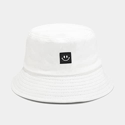 Sombrero de Mujer Sólido y cálido Gorra de Invierno Sombrero de Cubo para Mujer Protector Solar al Aire Libre Sombrero de señora Gorra-Type3 White