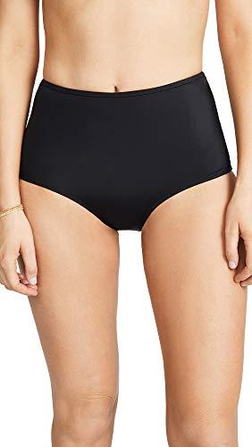 Solid & Striped Women's The Brigitte Bikini Bottoms, Black, Medium