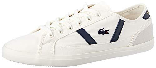 Lacoste Damen Sideline 119 1 Cfa Sneaker, Elfenbein (Off Wht/NVY Wn1), 40 EU