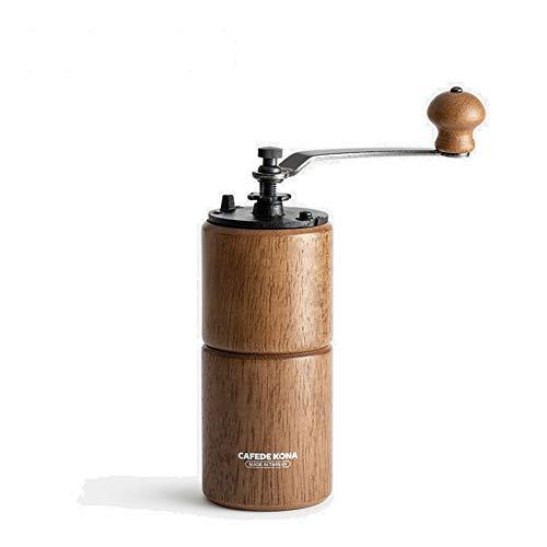 Molinillo de Café Manual de Acero Inoxidable - Con Amolador