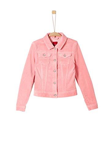 s.Oliver Mädchen 66.908.56.2637 Jacke, Rosa (Light Pink 4273), 140 (Herstellergröße: S)