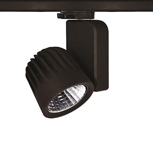 OR-601 Projecteur LED 3 phases 40 W 30 ° Noir 3000 K