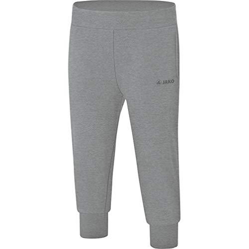JAKO Basic Pantalon de survêtement pour Femme XL Anthracite