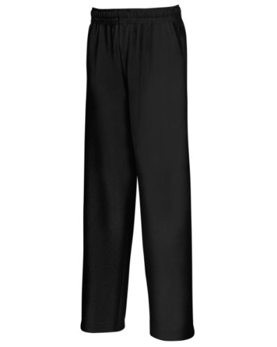 Fruit of the Loom FOTL Herren Jogginghose Lightweight Gr. XL, Schwarz