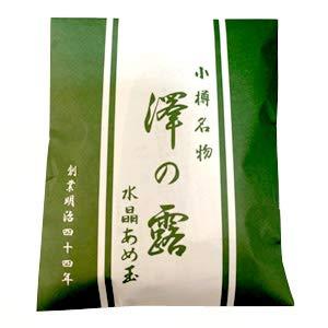 小樽名物 澤の露 水晶あめ玉 袋入り 約100g 軽減税率対象
