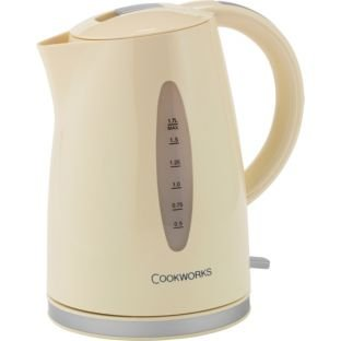 Cuvette Cookworks WK8259BH de 1,7 litre - Crème