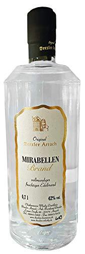 Mirabellen Brand, Original Drexler Arrach, Obstbrand aus dem Bayerischen Wald, 0,7l.