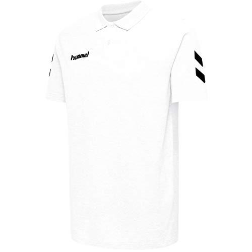 Hummel Kinder HMLGO KIDS COTTON POLO Hemd, Weiß, 152