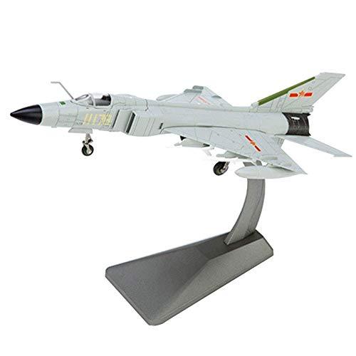 DFJU Modello di Aereo in Scala 1/72, Modello di Caccia Militare Cinese J-8B, Oggetti da Collezione e Regali per Adulti, 11,7 Pollici x 5,1 Pollici