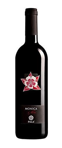 6 x 0.75 l - I Fiori di Pala sono un Monica di Sardegna Doc prodotto a Serdiana - vino intenso dai riflessi violacei, da abbinare, a formaggi fresci di pecora, pecorino sardo fresco, salumi