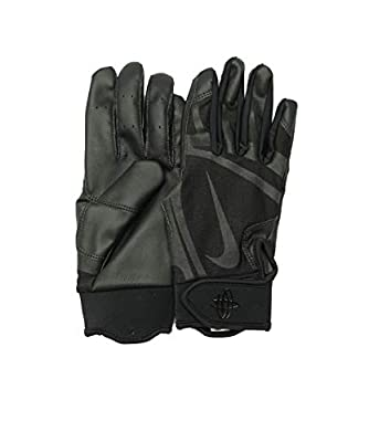 Nike Men's Huarache Edge Batting Gloves Black Size Medium