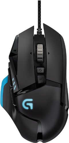 Logitech G502 - Ratón Gaming óptico (USB), Negro