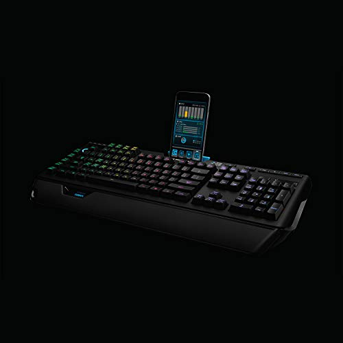 Logitech G910 Orion Spark RGB Mechanical Gaming Keyboard – 9 Programmable Buttons, Dedicated Media Controls Michigan