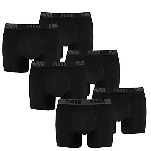 PUMA Herren Boxershort Limited Statement Edition 6er Pack - Black Combo - Gr. M