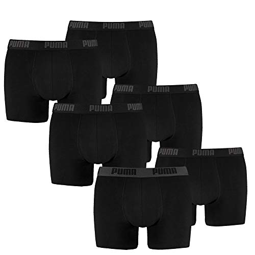 PUMA Herren Boxershort Limited Statement Edition 6er Pack - Black Combo - Gr. L