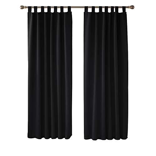 cortinas negras opacas habitacion
