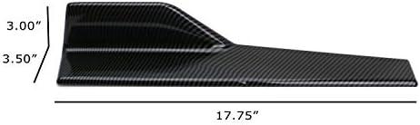 2007 honda accord rear bumper lip _image3